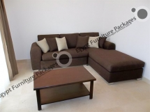 Al Dora 1 bed Dark Wood