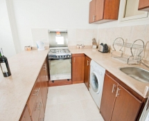 Medium colour Kitchen Colour with beige marble in Makadi
