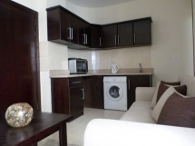 Tiba 1 bed - Dark wood 2