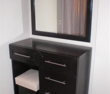 Dresser Unit with stool and mirror - Sahl Hasheesh Furniture Packages